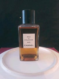 Iconic Chanel #5 Cologne 2oz Refill Bottle