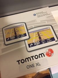 TOMTOM ONEXL car navigation system complete in box portable maps route