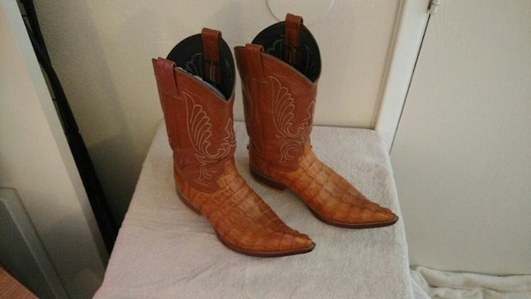 79e64c4651a Custom Made Bilbo Alligator Cowboy Boots