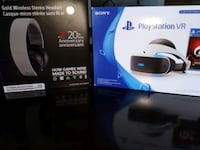 PlayStation VR headset + Wireless Stereo Headphone Toronto, M9N 1L1
