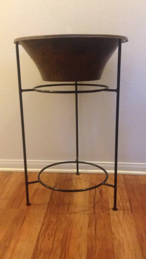 Smith Hawken copper planter