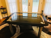 Rectangular glass dining table for sale 441 mi