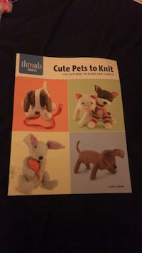 Cute pets to knit book Clarksville, 21029