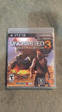 Uncharted 3 ps3 game  Leesburg, 20176