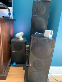 5 x High Quality Home Theater Pioneer Speakers