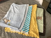 Baby Blankets (5 pieces)