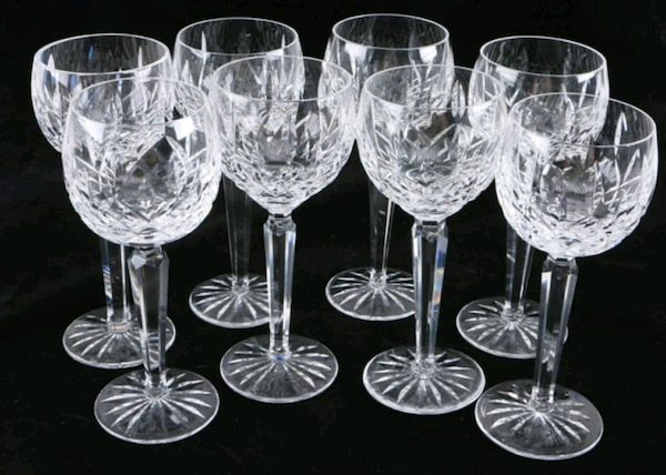 """Waterford """"Lismore"""" crystalwine glass goblet 5efbe3d7-3c79-4378-b55f-bcd47eb48db2"""