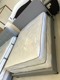 Queen mattress bed frame