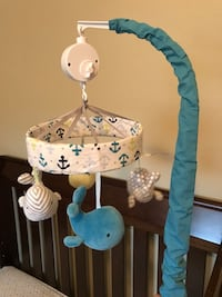 Circo whales and waves musical crib mobile Denver, 80205