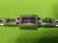 Women's Guess Stainless Steel Watch Crystals Black Whitchurch-Stouffville, L4A 0J5