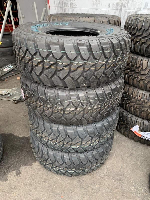 Used 33x12 50r15 Set Of 4 Mud Tires On Sale We Finance No Credit