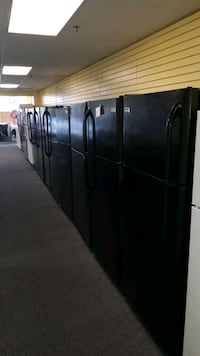 "Black top and bottom refrigerators 30""wide  Randallstown"
