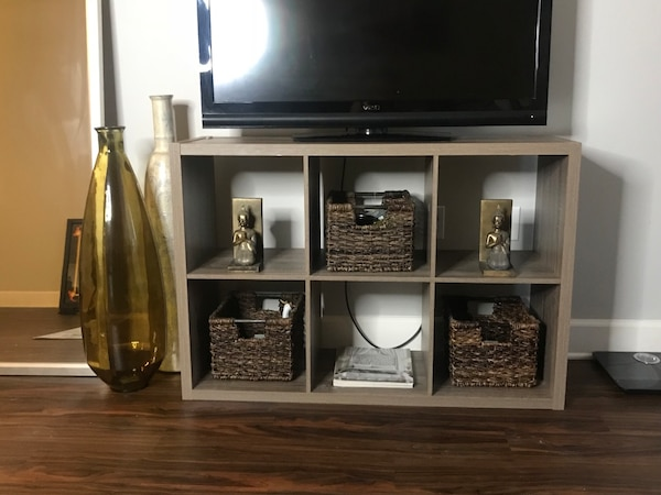 online store 03f48 33f74 Target TV Stand / 6 cube organizer