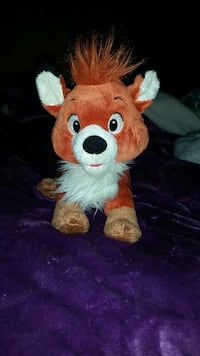 red and brown dog plush toy Bedford, 47421