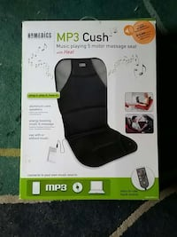 Massage seat with MP3 player hook up