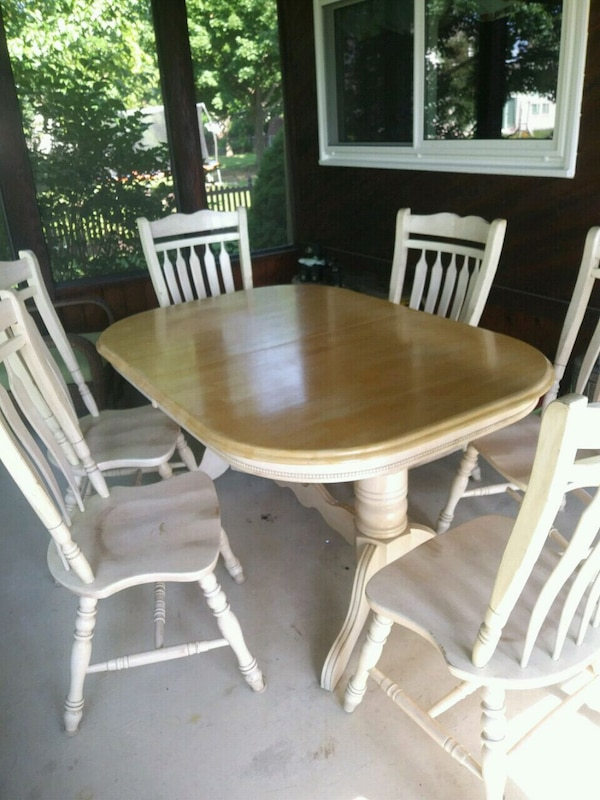 timeless design f500a 9a225 Dining Table and 6 Chairs
