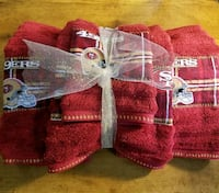 SF 49ers Bath towel set Turlock, 95380