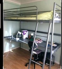 Ikea Loft Bed with Desk Montreal, H8N 1N9