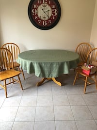 Kitchen Table and Four Chairs Milton, L9T 7C7