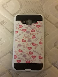 white, black, and pink Girls Love print Smartphone case Rome, 30165