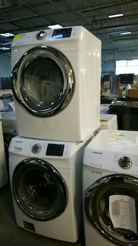white front-load clothes washer and dryer set St. Peters, 63376