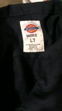 Dickies long sleeve LT  with pockets and short sleeve with pockets