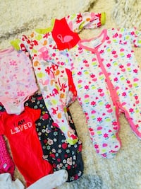 All the rainbow colours for baby girl upto 3 months old at Coventry  Calgary, T3K 6J7