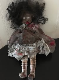 porcelain doll in white and purple dress Hagerstown, 21740