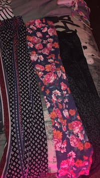 black, red, and white floral pants Grand Junction, 81501