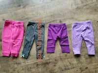 three assorted-color pants Stephens City, 22655