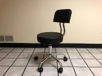 New in box Black Hydraulic Saloon Tattoo Nail Spa Office Swivel Stool with Back South El Monte, 91733