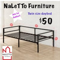 Brand new twin size day bed- new in box  Dallas, 75247