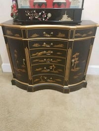 brown wooden 3-drawer chest Woodbridge, 22192
