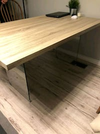 Wooden dining table Toronto, M9C 4B4
