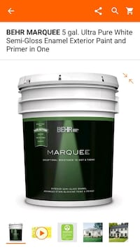 Behr marquee exterior paint Houston