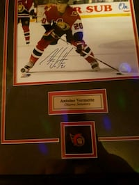 Autographed framed Pickering, L1W 1B4