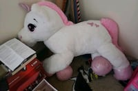 white and pink bear plush toy Wichita, 67206