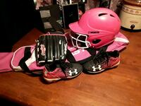 Pink and black T ball gear Swansea, 29160