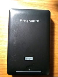 Raypower protable charger, 16759mAh, dual 4.5 USB  Gold River, 95670