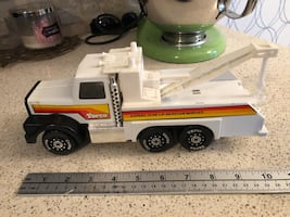 vintage torco diecast toy tow truck