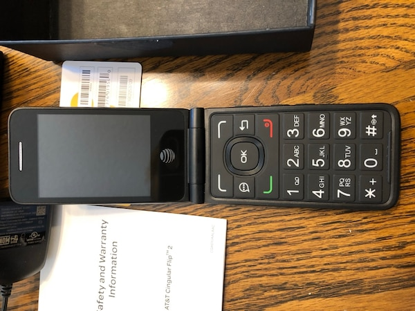 cheap for discount db7a4 3ea70 AT&T Cingular Flip 2 Mobile Phone
