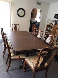 Formal dining room table & 7 chairs Los Angeles, 91335