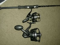 spheros 4000fa with pole peen pursuit ll reel only Gregory, 78359