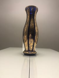 Blue and Gold Vase (Large) Toronto, M9C 4J4