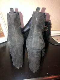 Black booties size 8 Fresno, 93720