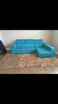 Sofa and Rug.  Rarely used.  Purcellville, 20132