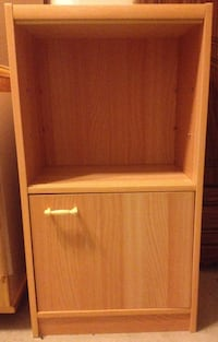 Small Japanese Bamboo Cabinet Washington
