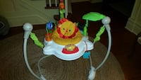 baby's white and green Fisher-Price Lion jumperoo Oakville, L6H 3N8