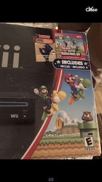 Like new unlimited edition wii set with Mario game only Montréal, H4E
