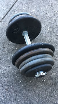 65 Pound Adjustable Dumbbell Dumont, 07628